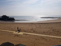 Angra na praia Foto de Stock Royalty Free