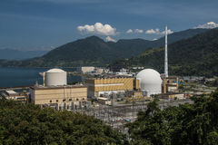 Angra Nuclear Power Plant Royalty Free Stock Photos