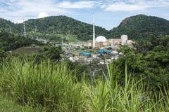 Angra Nuclear Power Plant, Rio de Janeiro, Brazil stock image