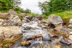 Angra perto de Johnson Lake Fotos de Stock Royalty Free