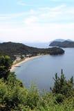 Angra, Seto Inland Sea, Japão imagem de stock