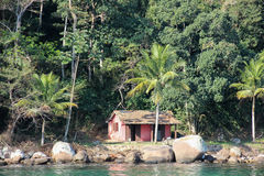 Angrados Reis en Ilha Grande is toeristenbestemmingen in Rio de Janeiro Stock Foto