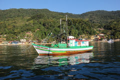 Angrados Reis en Ilha Grande is toeristenbestemmingen in Rio de Janeiro Royalty-vrije Stock Afbeelding