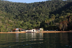 Angrados Reis en Ilha Grande is toeristenbestemmingen in Rio de Janeiro Stock Foto's