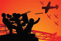 Angriff auf Pearl Harbor Lizenzfreie Stockfotografie