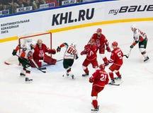 A Angriff Lukoyanov (89) Stockbild