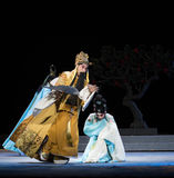"Angrily the Emperor-Royal Garden-Jiangxi opera ""Red pearl"" Stock Photos"