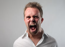 Angry Royalty Free Stock Image