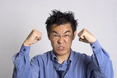 Angry Adult. Angry Asian Adult Stock Photography
