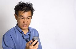 Angry Adult. Angry Asian Adult Stock Images