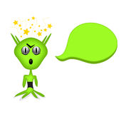 Angry alien Stock Images