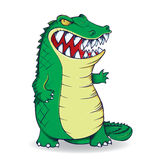 Angry alligator Royalty Free Stock Photos