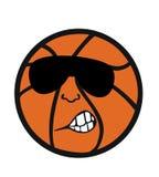 Angry basketball Royalty Free Stock Photo