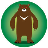 Angry bear Royalty Free Stock Images