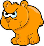 Angry Bear Vector Illustration Stock Image