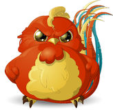 Angry bird Stock Photography