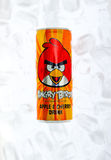 Angry birds drink can Stock Image