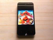 Angry Birds 2 gra zdjęcia royalty free