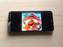 Angry Birds 2 gry app fotografia stock