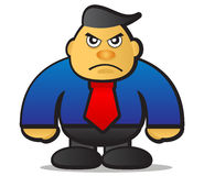 Angry boss Stock Images