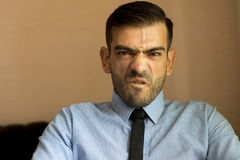 Angry boss Stock Photos