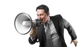 Angry boss Stock Image