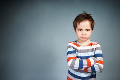 Free Angry Boy Stock Photography - 18281992