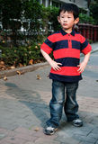 Angry boy. The boy said, why doesn't buy the toy to me Stock Photos