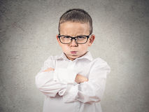 Angry boy puffing out his cheeks. Closeup portrait Angry Boy, Blowing Steam, puffing out his cheeks about to have Nervous atomic breakdown, isolated grey stock images