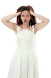 Angry bride Stock Photography