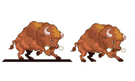 Angry Bull mascot Royalty Free Stock Photo