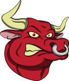 Angry Bull Stock Photography