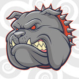 Angry Bulldog Vector Royalty Free Stock Images