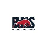Angry bulls. International brand logo bulls vector illustration