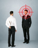 Angry business concept Stock Photography