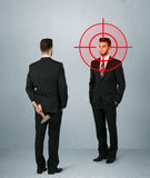 Angry business concept Stock Images