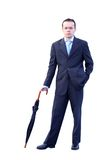 Angry business man Royalty Free Stock Images