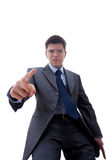 Angry Business man Stock Image