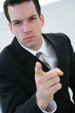 Angry Business Man Stock Images