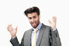 Angry businessman Royalty Free Stock Photo