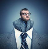 Angry businessman Royalty Free Stock Images