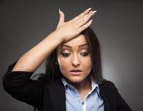 angry businesswoman Στοκ Φωτογραφίες