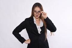 angry businesswoman Στοκ εικόνα με δικαίωμα ελεύθερης χρήσης