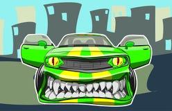 Angry car Stock Photos