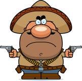 Angry Cartoon Bandito Stock Images