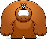 Angry Cartoon Bear Stock Image