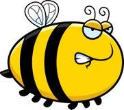 Angry Cartoon Bee Royalty Free Stock Photo