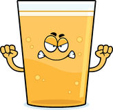 Angry Cartoon Beer Stock Photography
