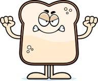 Angry Cartoon Bread Stock Image