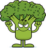 Angry Cartoon Broccoli Stock Photos